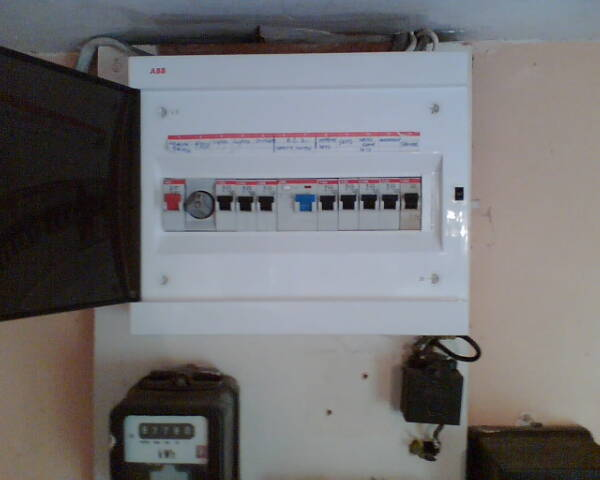 view pictures and photos for rms electrical qualified insured upgraded modern fuse board it has a neozed main switch fuse