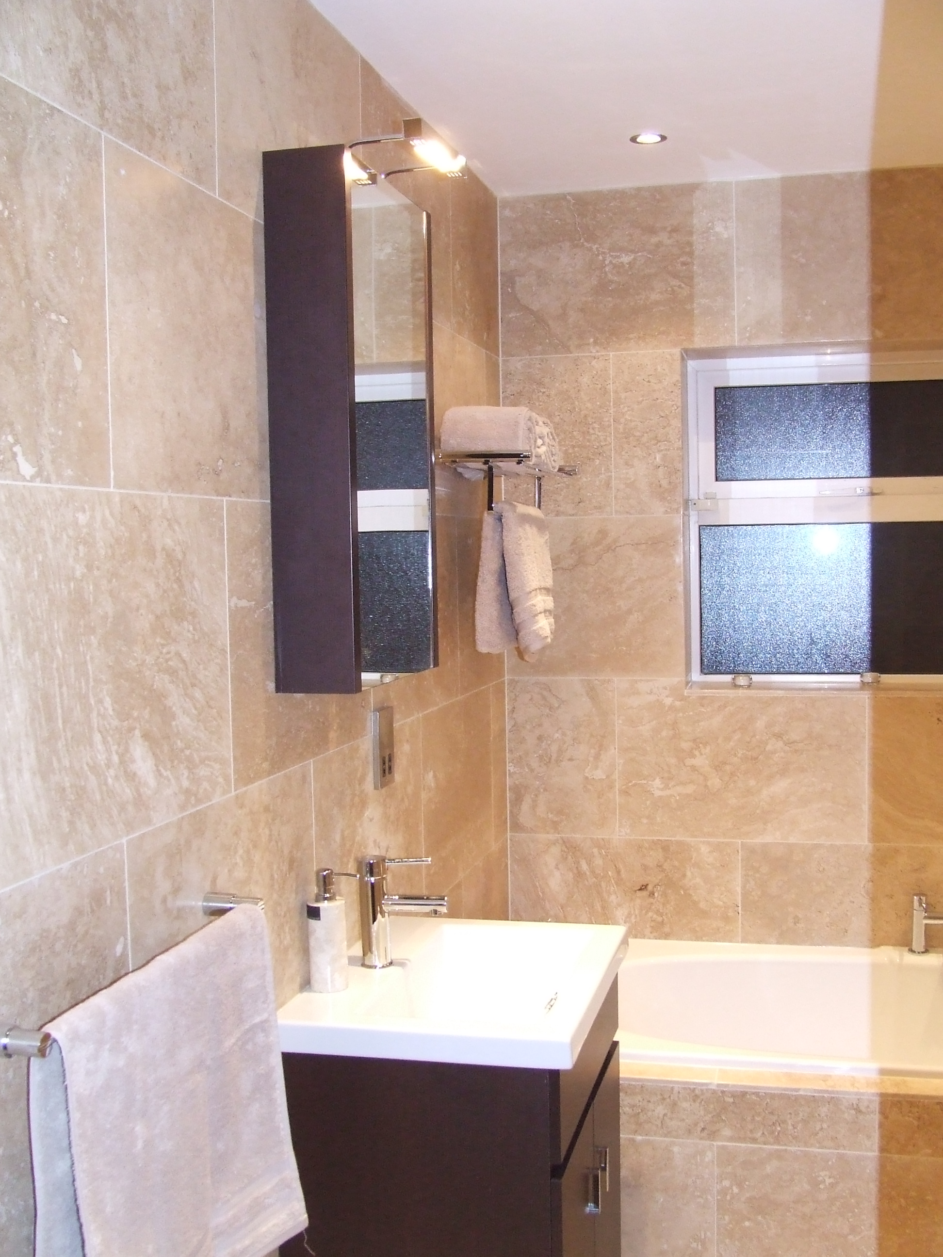 Modern Bathroom Revamp In Lucan Co Dublin All Materials From Tubs And Tiles