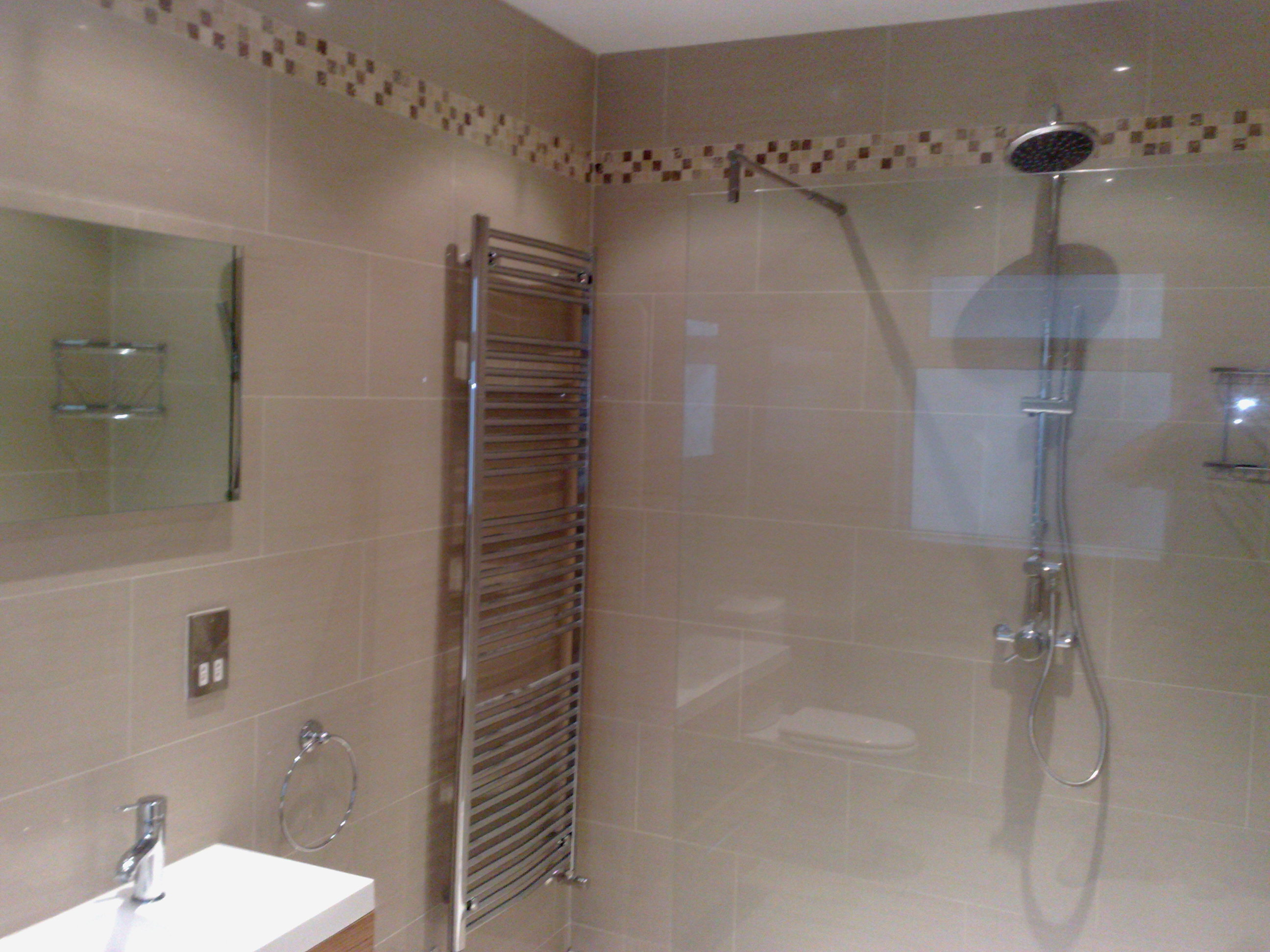 View pictures and photos for kiwi plumbing complete for Bathroom tiles design