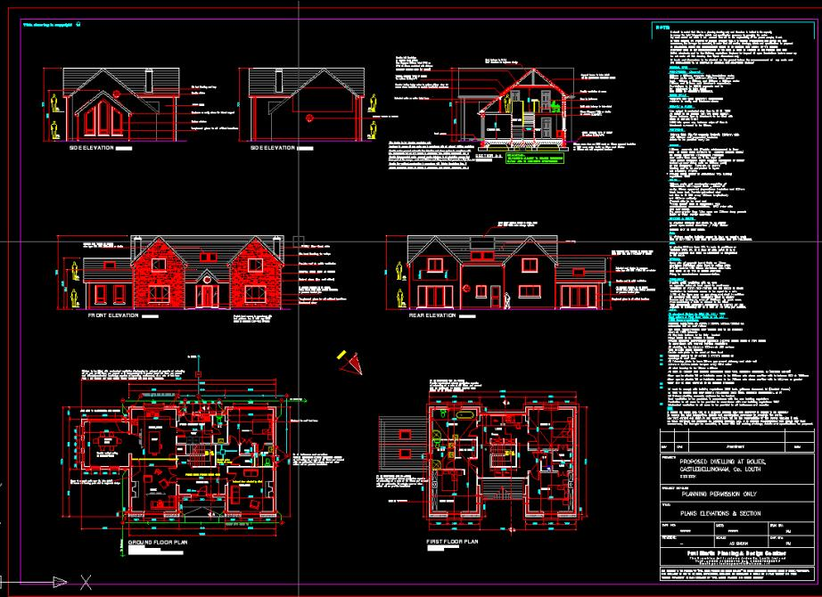 House Autocad Plans Home Design And Style