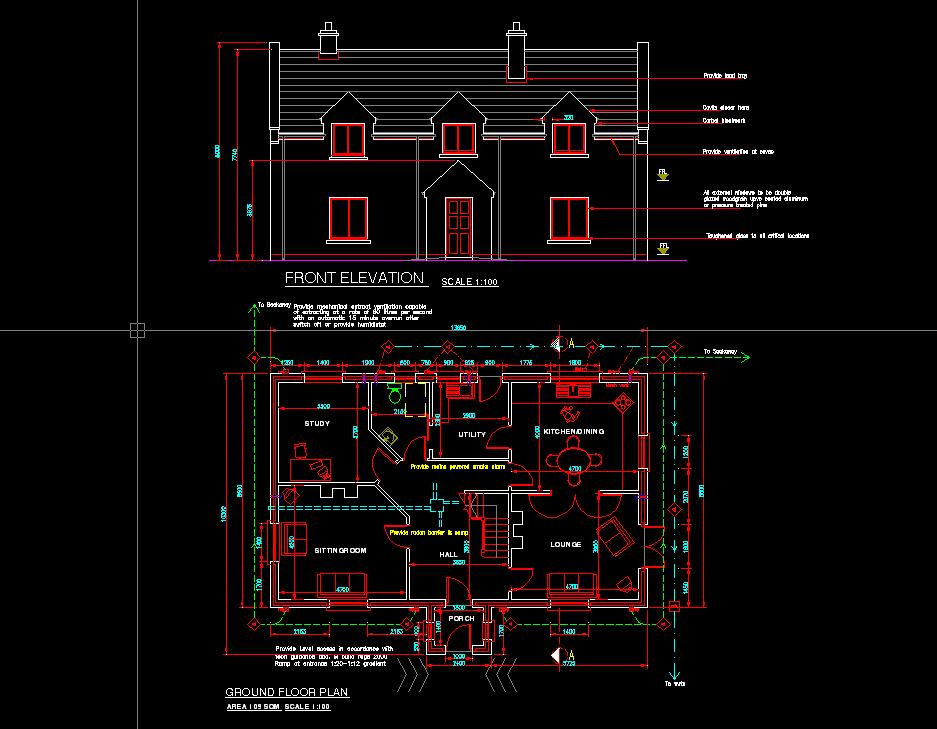home design in autocad format - Autocad For Home Design
