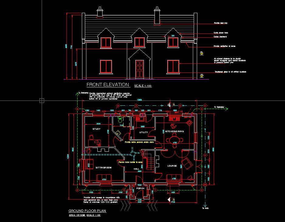 House plans irish house designs