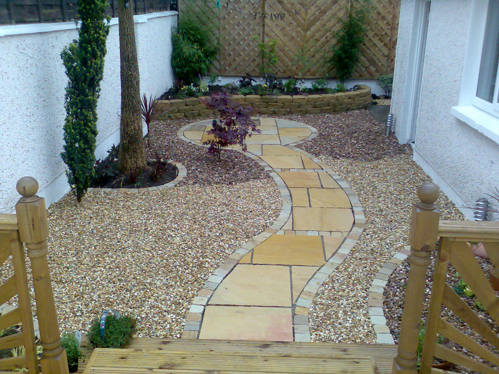 View pictures and photos for landscapes direct lt lt for Garden decking kildare