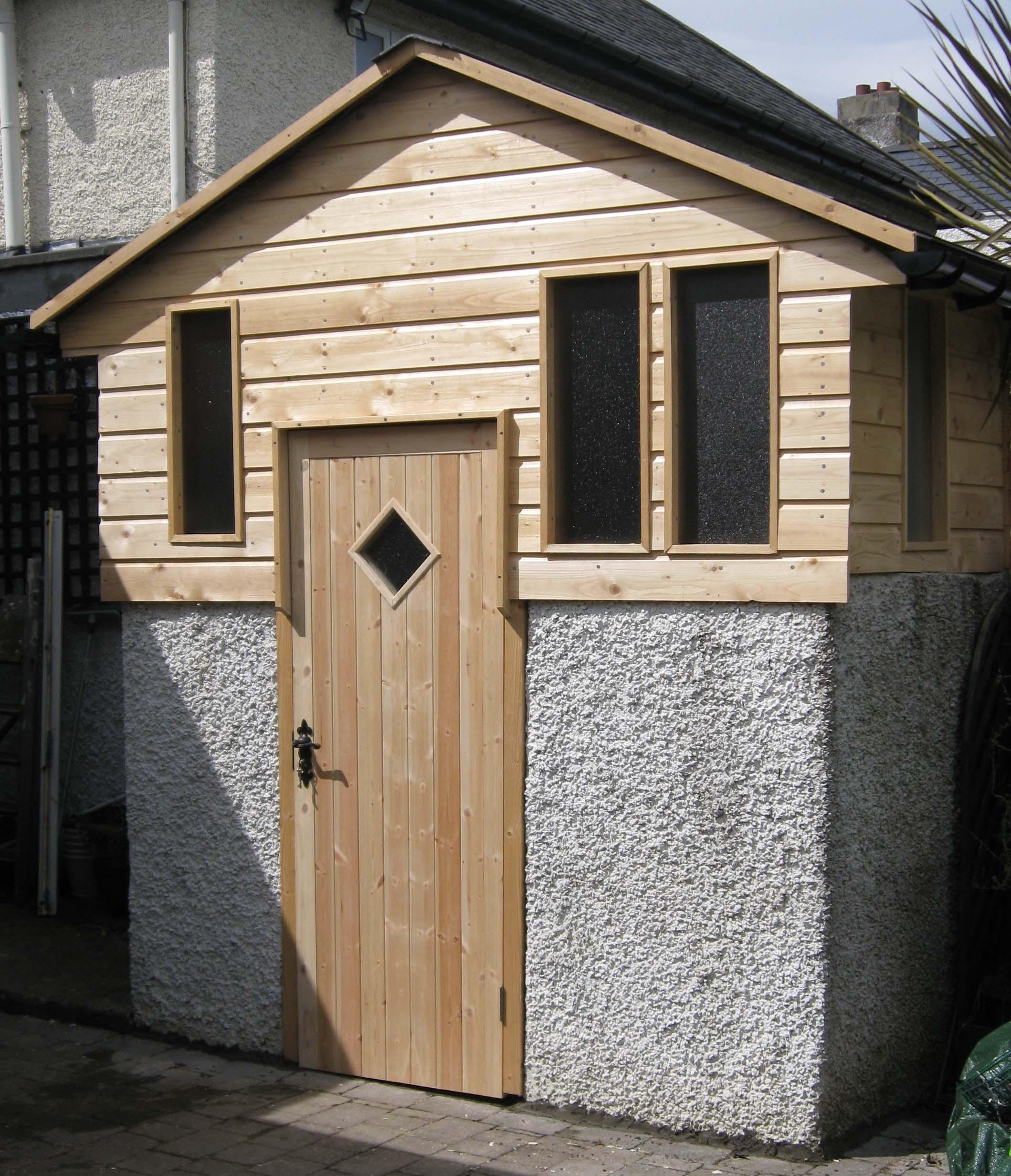 Storage building wooden garden sheds kilkenny for Garden shed kilkenny