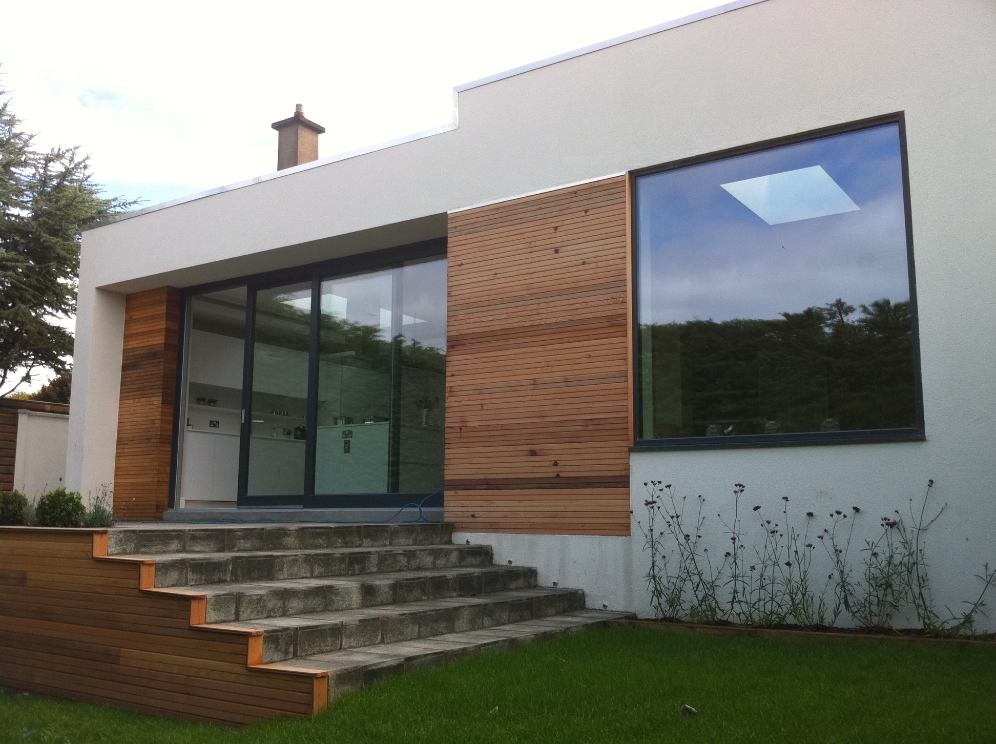 A Contemporary Single Storey Extension To A Detached Dwelling In Howth  Co.Dublin. Under