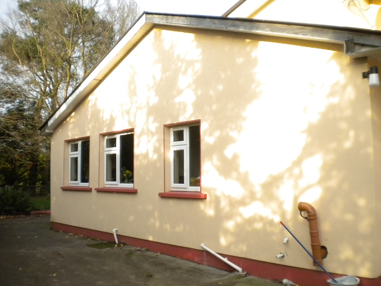 Extension to old house