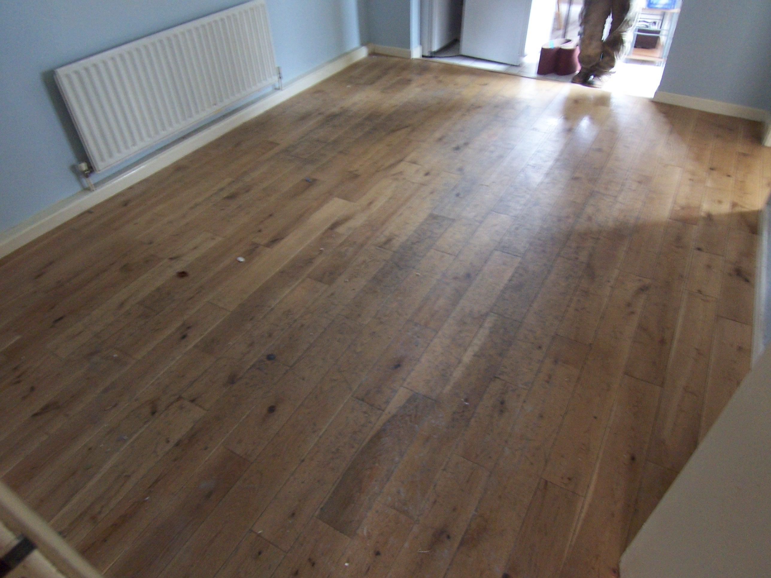 View pictures and photos for paul curran hardwood floors for Rustic red oak flooring