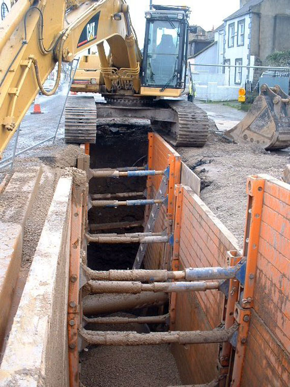 Mains Sewer connections Road Crossings