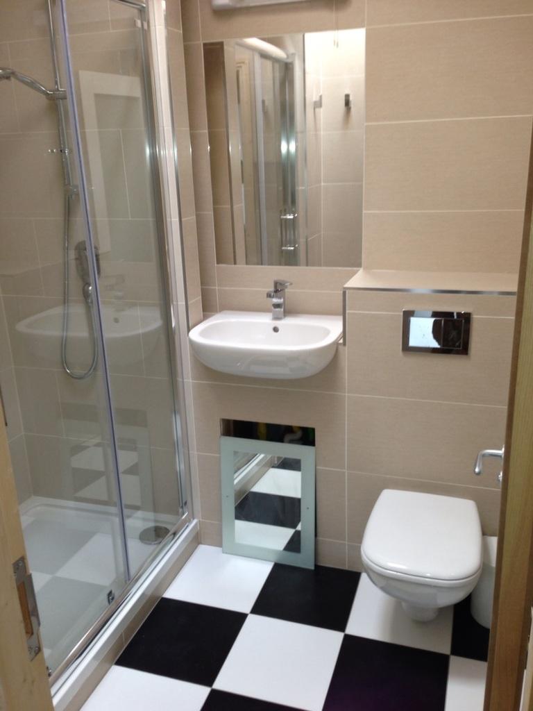 New bathroom by DP Building. DP Building have excellent in bathroom refits. More of