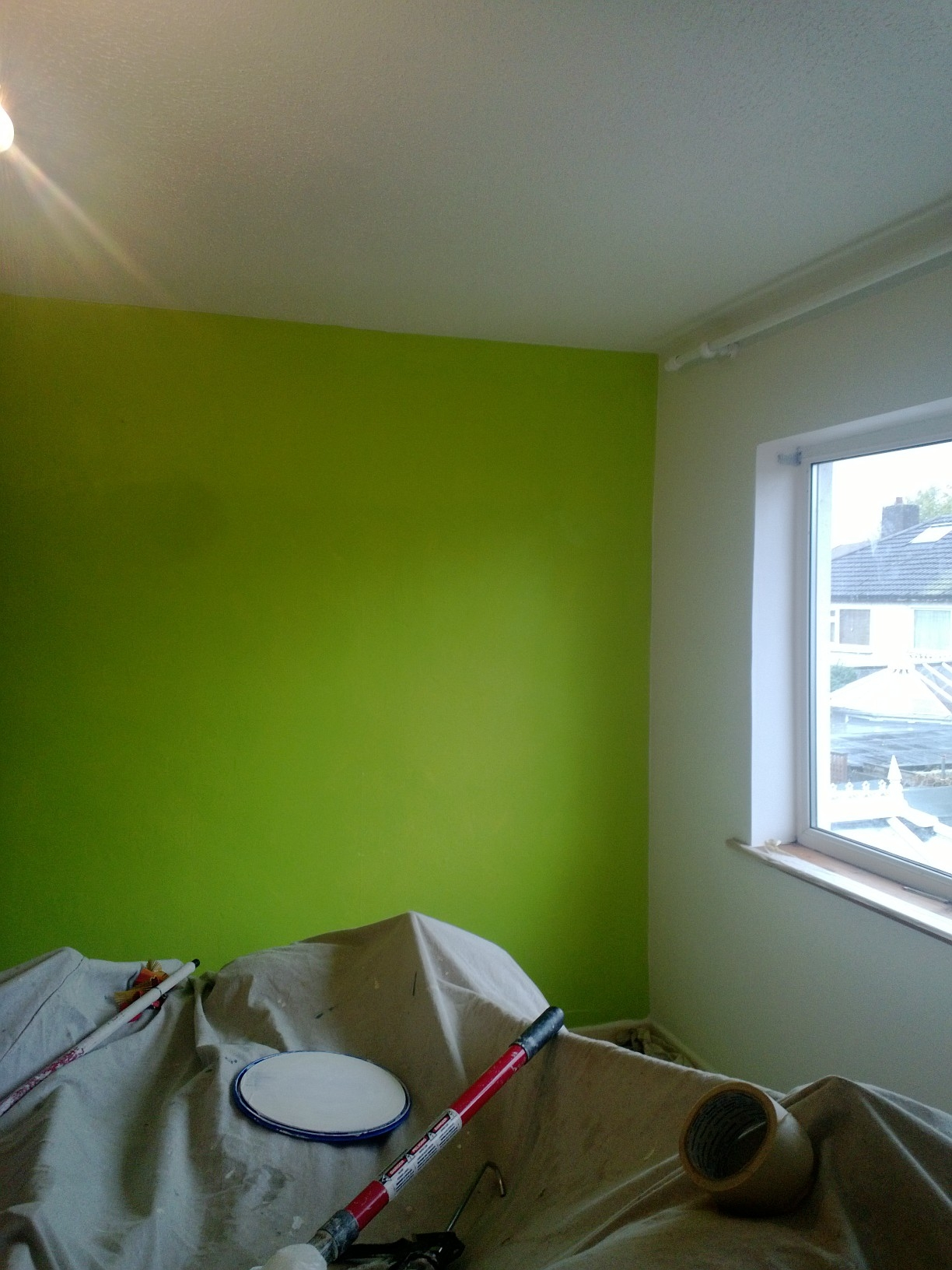 bedroom feature wall paint ~ dact