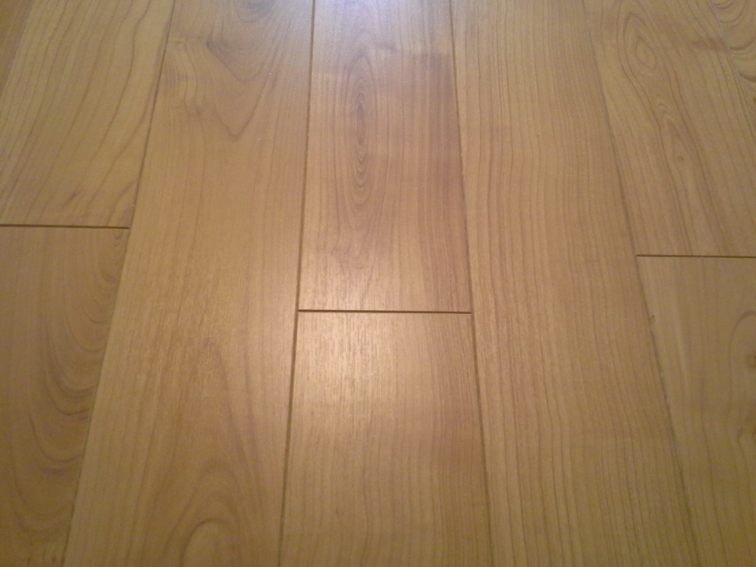 A laminated floor i installed recently.