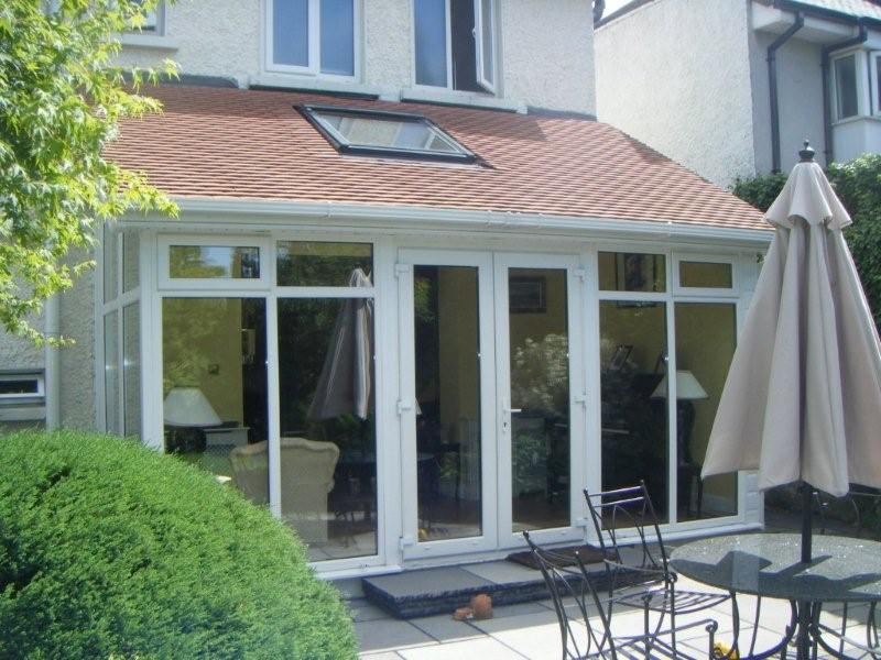 Sunroom extension to same house in Donnybrook.