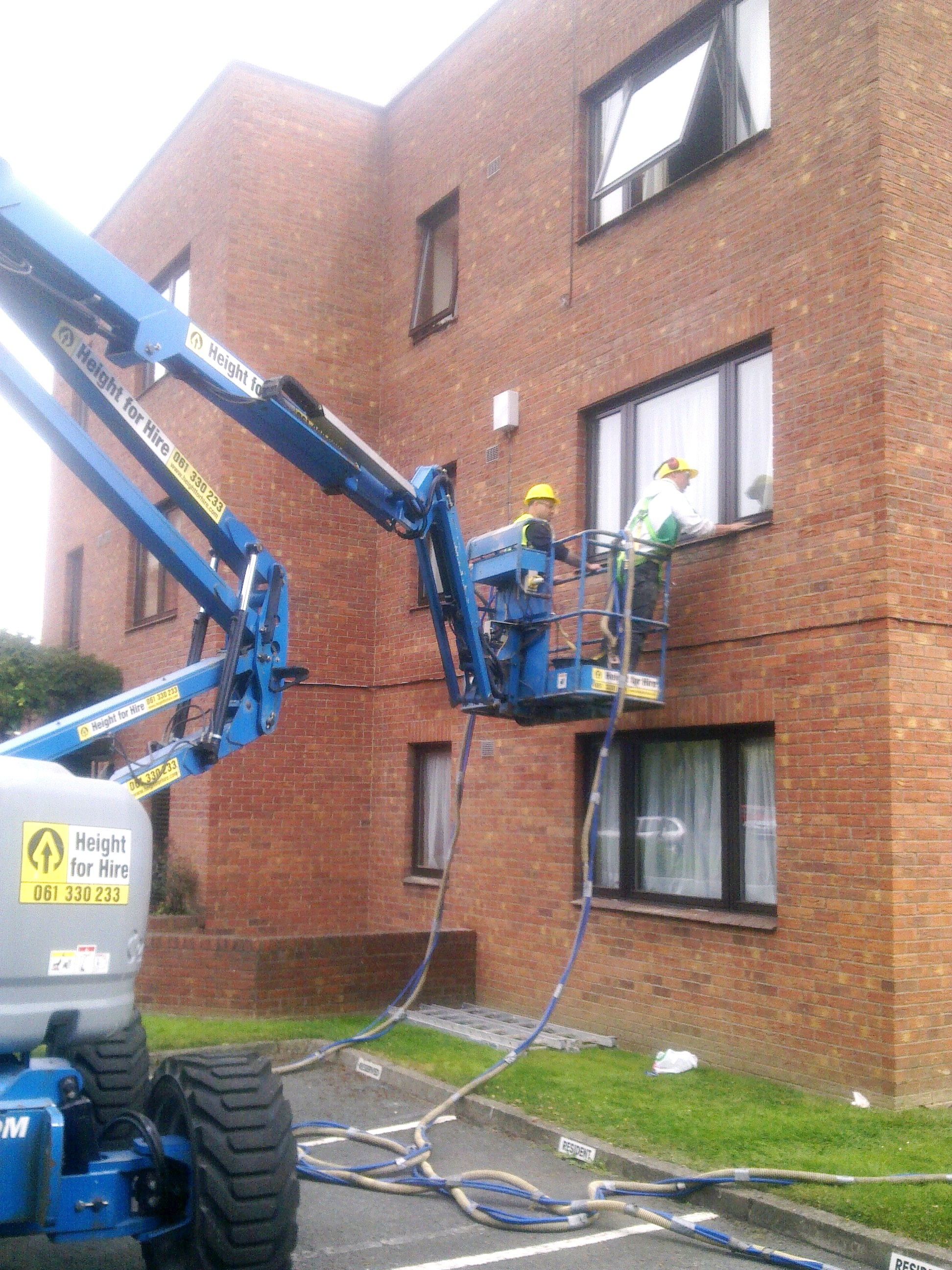 Cavity Wall Insulation Blowing Behind : View pictures and photos for clane building works