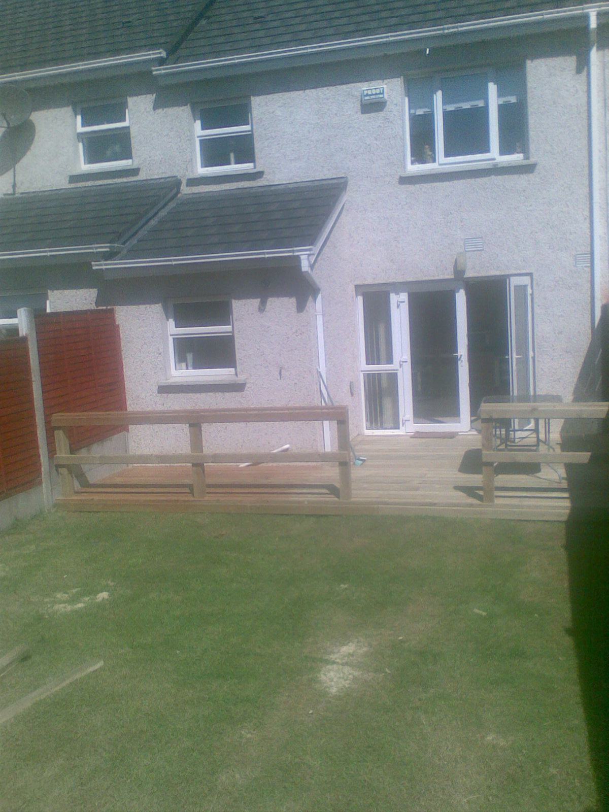 View pictures and photos for surehome please view our main for Garden decking kildare