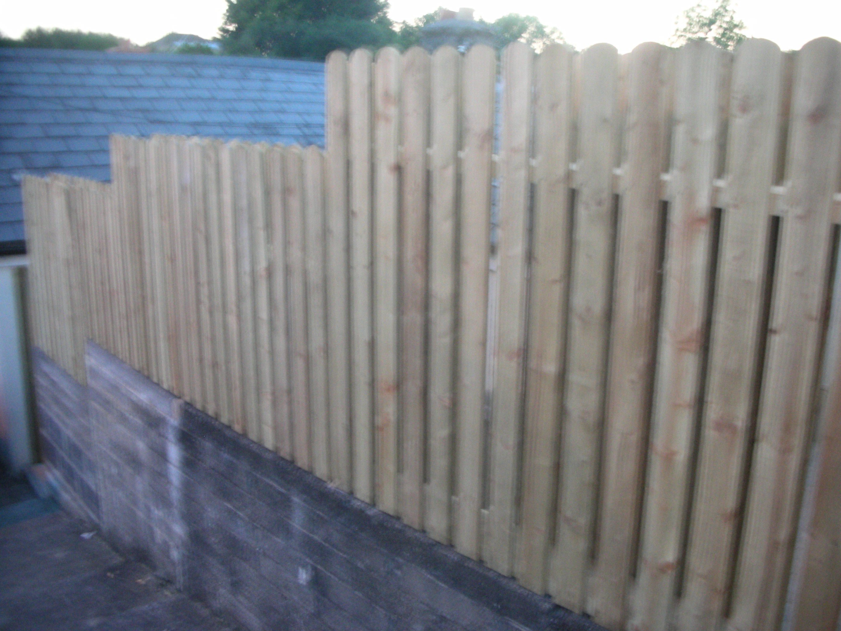 Timber Fencing for privacy & security 