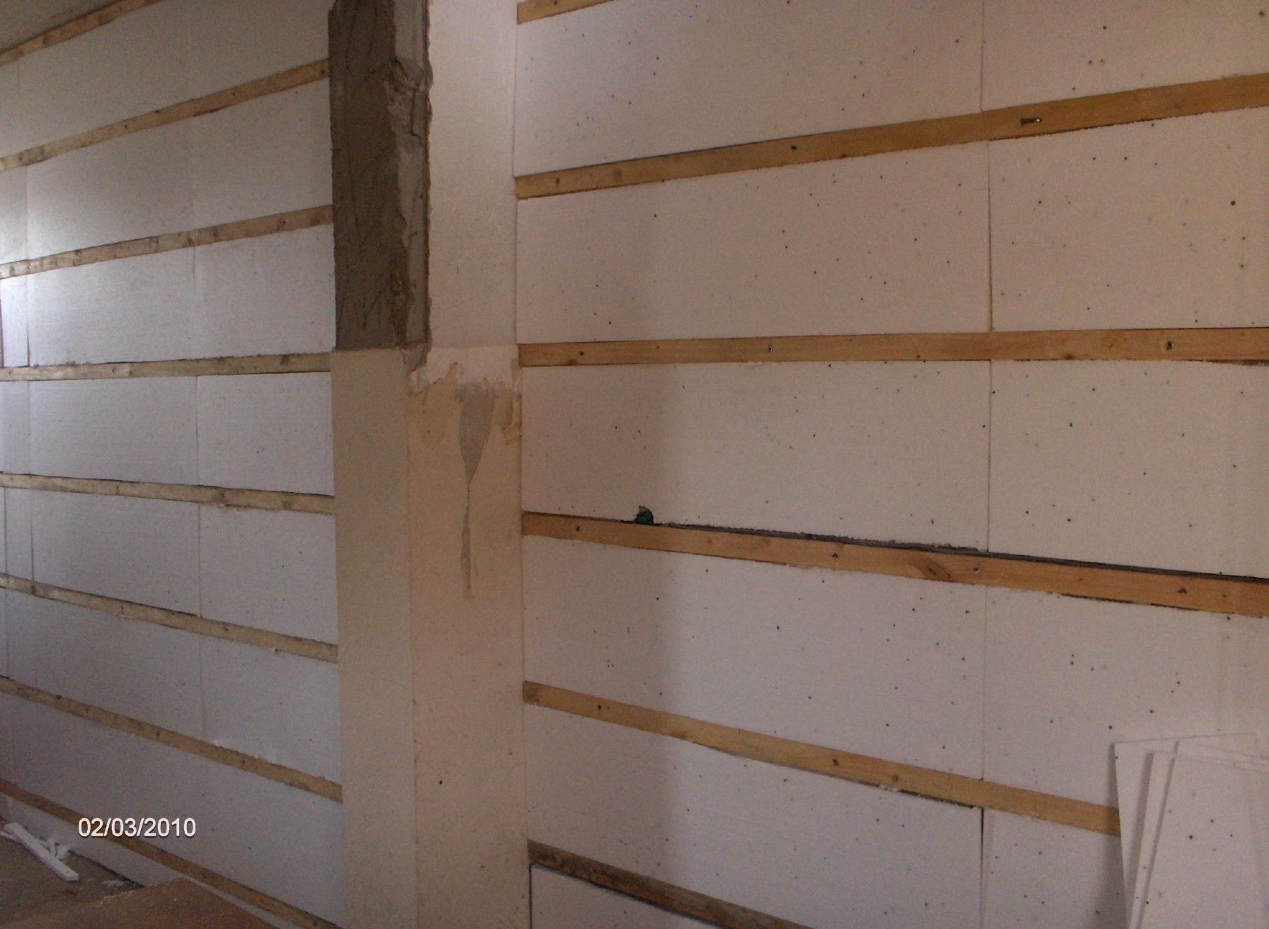 internal insulated walls