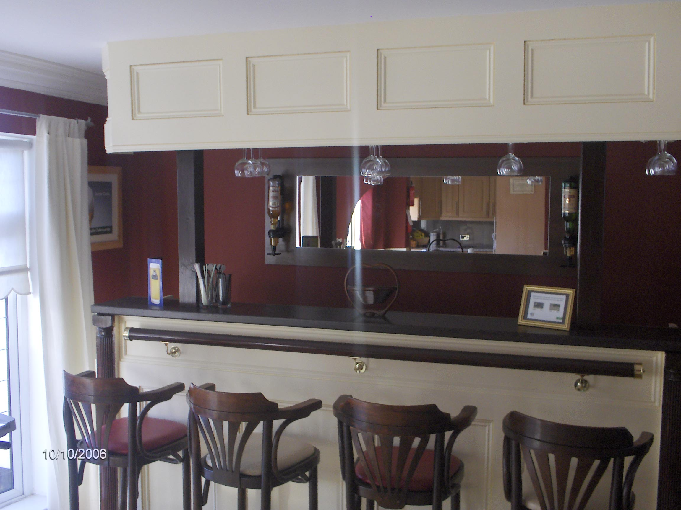 Home bars made to measure, getting more and more popular these days , excellent for home entertainment, parties, etc,